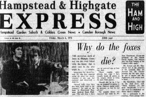 Hampstead and Highgate Express- The Highgate Vampire